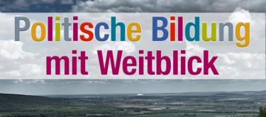 Header Politische Bildungsgemeinschaft Niedersachsen (Blick vom Deister in Richtung Hannover)